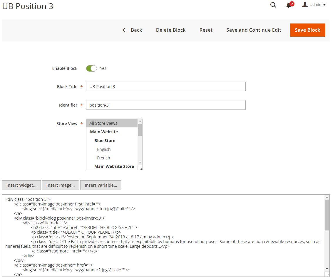Ub sportsgear for magento 2 ubertheme ubertheme back end setting cheapraybanclubmaster Image collections