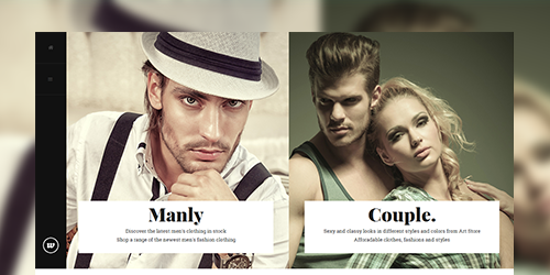 Responsive Magent theme Classy feature