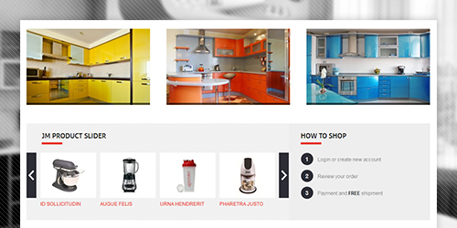 eCommerce Magento theme Dicento feature