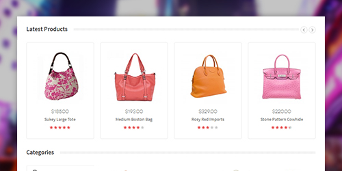 Responsive Magento theme Haga feature