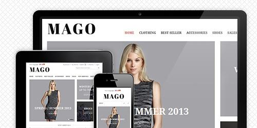 Mago - Responsive Magento theme for your fashion store | UberTheme