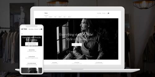Free Magento 2 theme UB Trex - Responsive Design