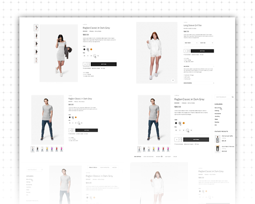 Responsive Magento 2 theme - UB Trex Pro Product Pages