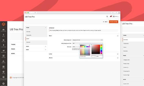 Responsive Magento 2 theme - UB Trex Pro Theme Helper