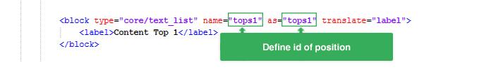 Static Block parameter explanation