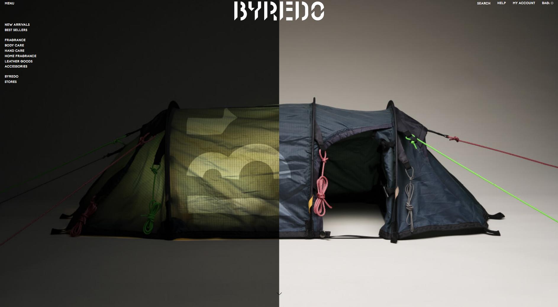 Magento 2 websites - Byredo