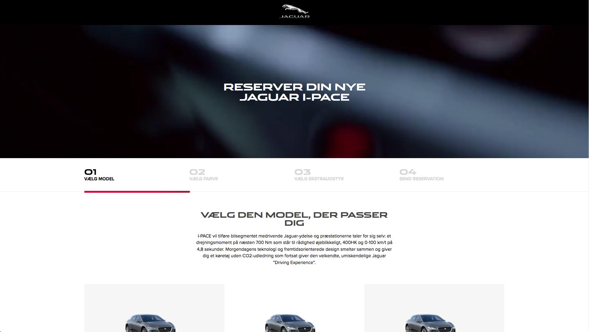 Magento 2 websites - Jaguar