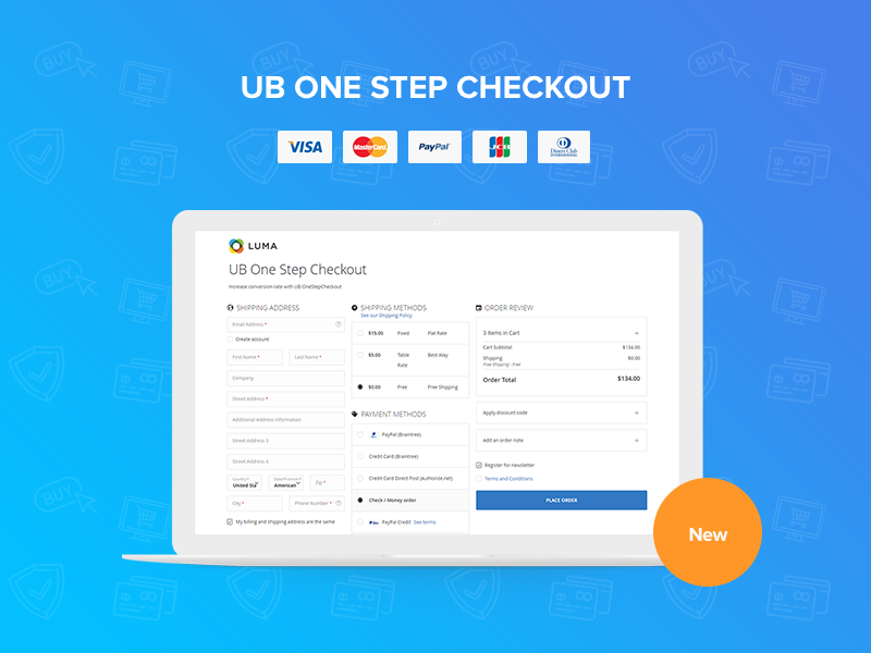 [Magento 2] UB One Step Checkout