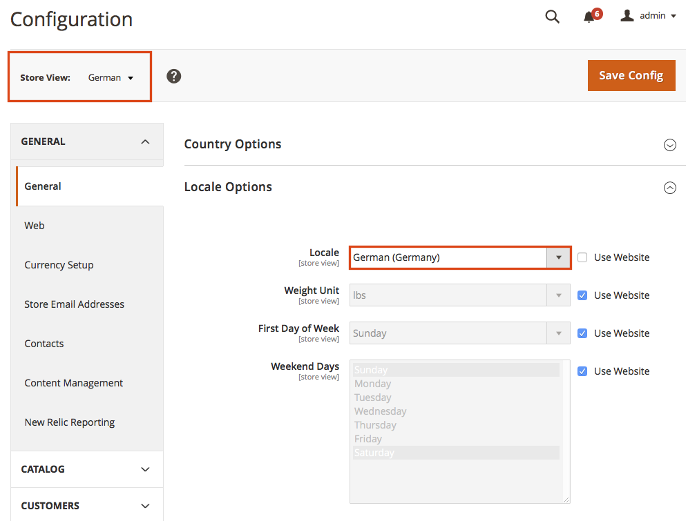 Create a new language for Magento 2 -  Configure the locale