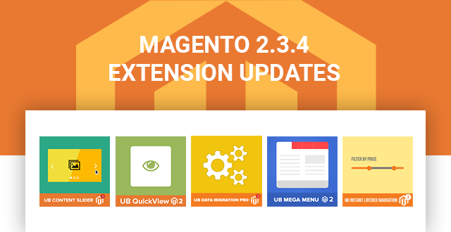 Magento 2.3.4 Updates