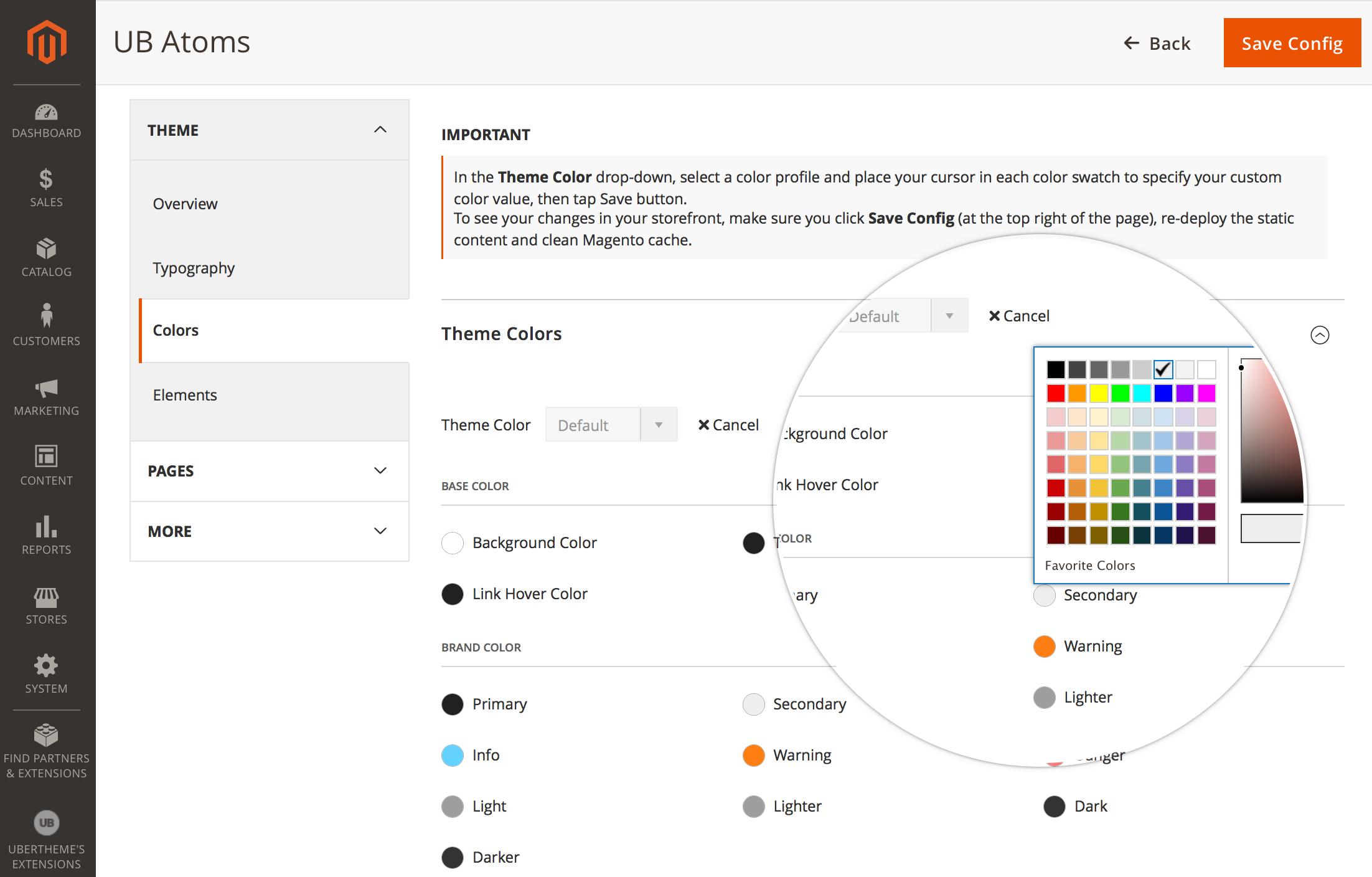 UB Atoms - Premium Magento 2 theme - New Color Profile