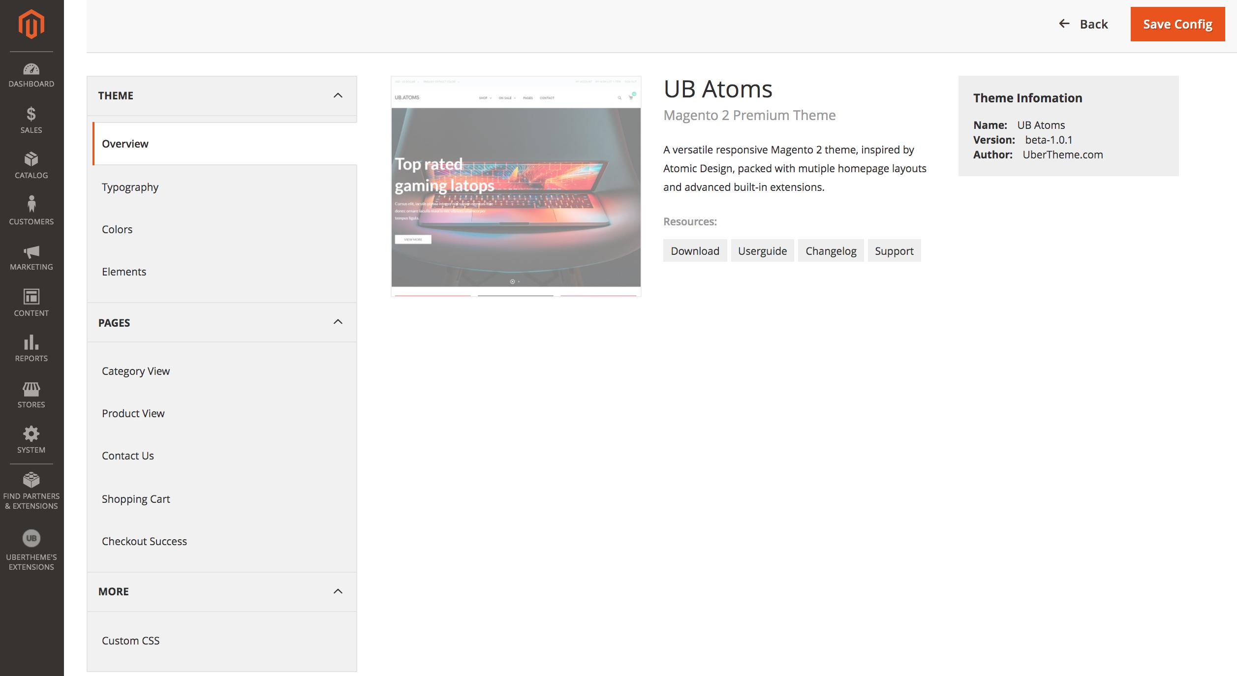 UB Atoms - Premium Magento 2 theme