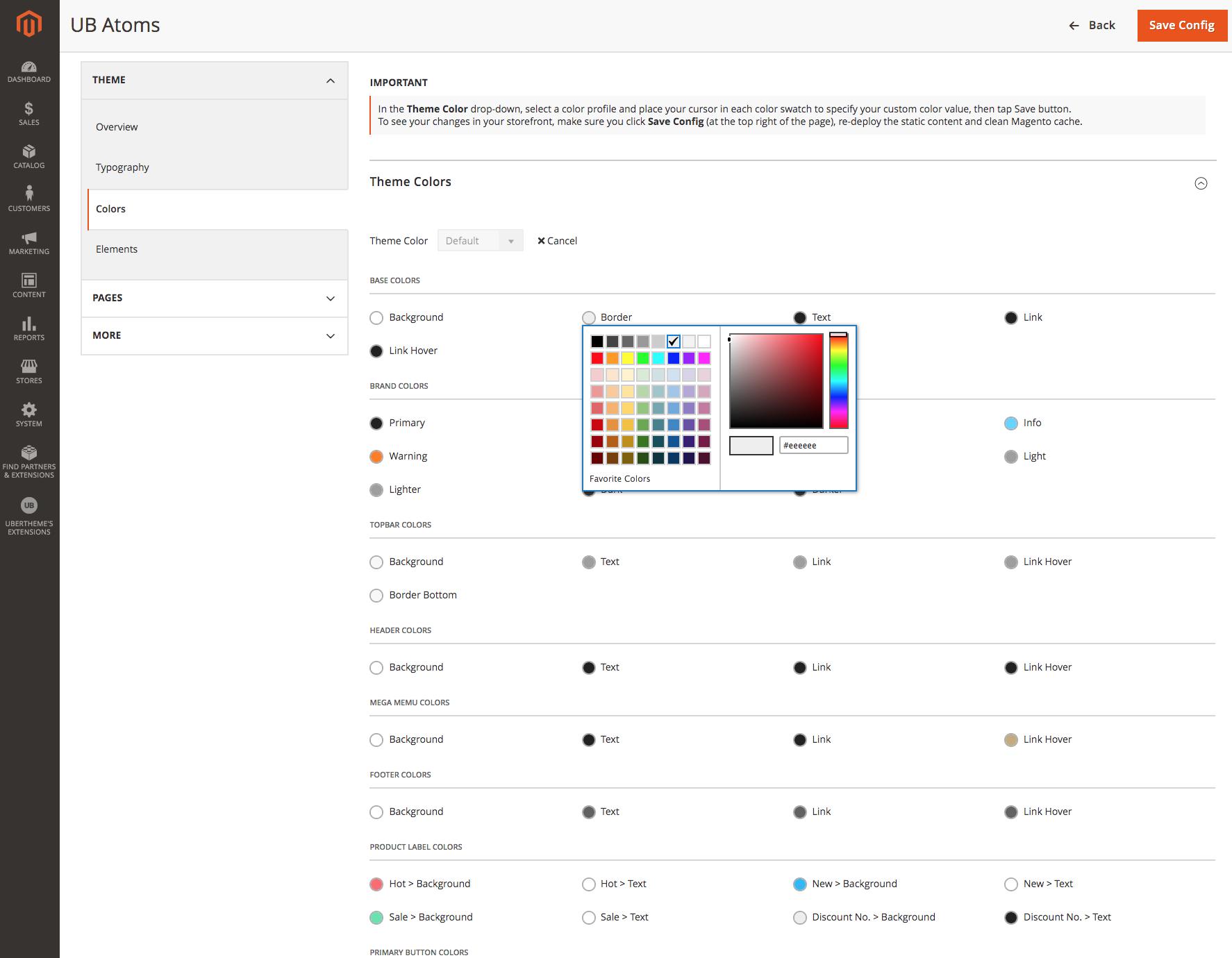 UB Atoms - Flexible Color Options