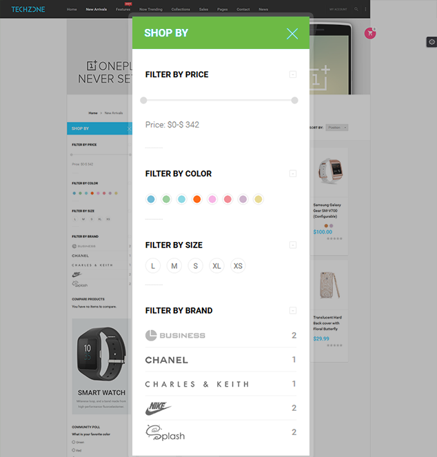 Magento Flexible shop by tool