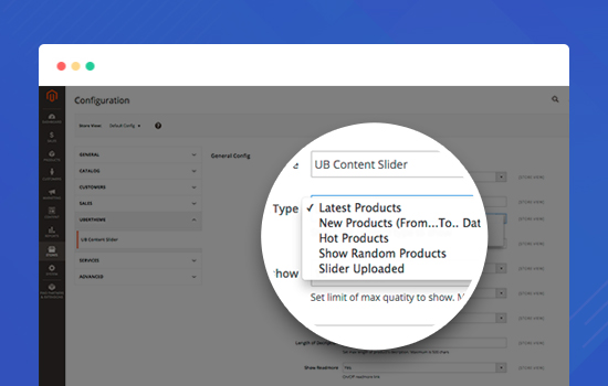 Magento 2 Content Slider - Full Configuration