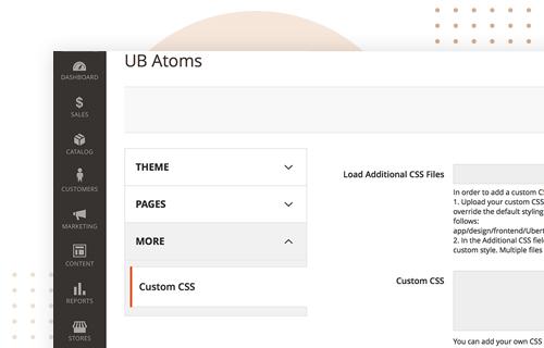 UB Atoms - Easy Customization