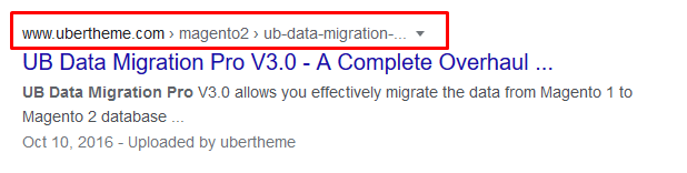 Magento 2 Rich Snippets - Breadcrumb