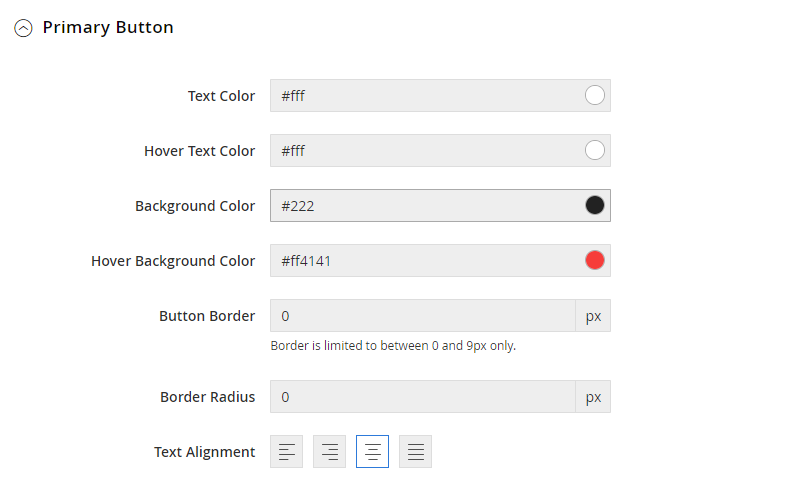 UB Theme Helper - Primary Button