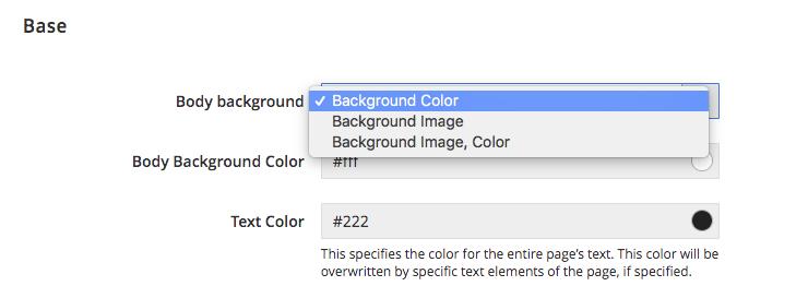 UB Theme Helper - Base color