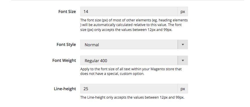 UB Theme Helper - Default font library