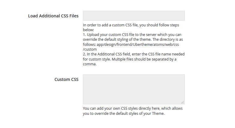 UB Theme Helper - Custom CSS