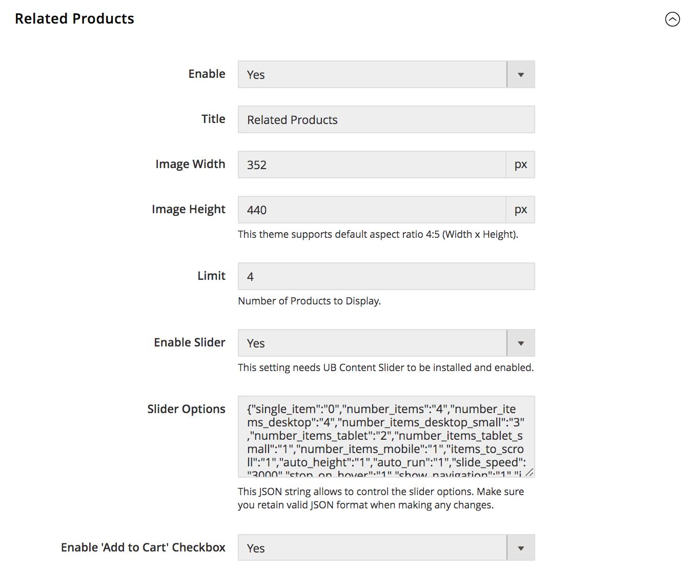 UB Theme Helper - Related Product