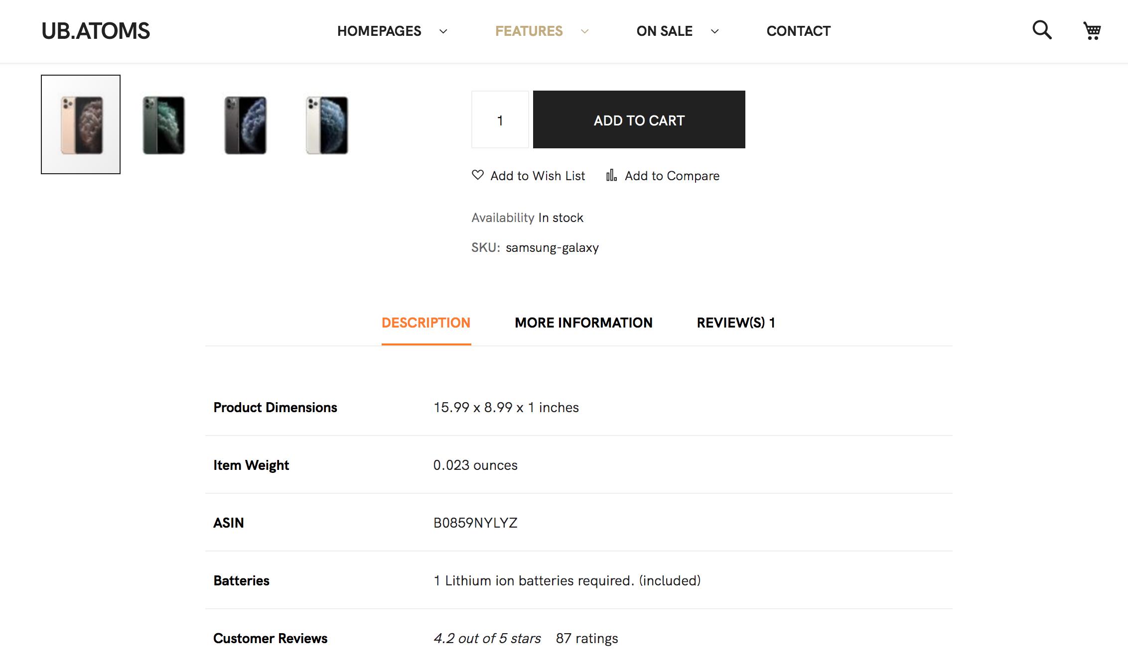 UB Theme Helper - Custom Tab Demo
